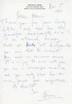 Henri Temianka Correspondence; (kaper)