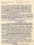 Henri Temianka Correspondence; (kaub)