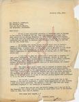 Henri Temianka Correspondence; (landfield)