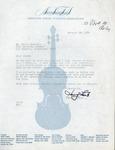 Henri Temianka Correspondence; (lantz)