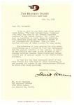 Henri Temianka correspondence; (Wallace)