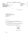 Henri Temianka correspondence; (Kadoorie)