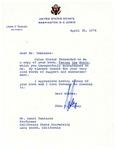 Henri Temianka correspondence; (Tunney)