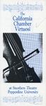 Henri Temianka (Concert Programs) by California Chamber Symphony Society