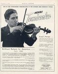 Henri Temianka (Miscellaneous Items)