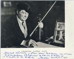Henri Temianka Correspondence; (photographs)