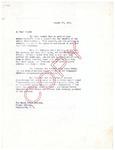 Henri Temianka correspondence, Gurs