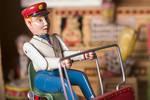 Modern Toys Baggage Cart