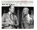 NAACP Director Roy Wilkins & President Ford