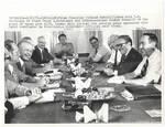 Yitzhak Rabin with Henry Kissinger