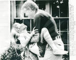 Jimmy Carter Playing with Amy Carter