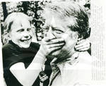 Jimmy Carter with Amy Carter