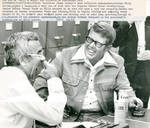 Billy Carter with Vernon Scott