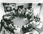 Jimmy Carter with Members of Congress, Pond House