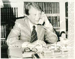 Jimmy Carter On Telephone
