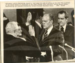Ford Taking Vice Presidential Oath
