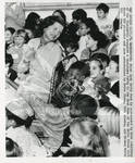 Betty Ford At Christmas Party