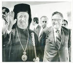 Henry Kissinger With Archbishop Makarios