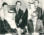 Henry Kissinger With Prince Fahd of Saudi Arabia