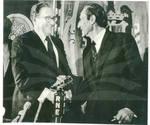 Kissinger Confers In Spain