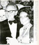 Henry Kissinger With Elizabeth Taylor