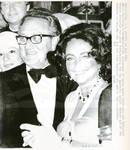 Henry Kissinger With Elizabeth Taylor
