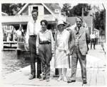 Charles and Anne Lindbergh in Los Angeles, CA