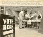 Bake Sale During Michigan Voting