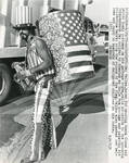 Ray Valine Wearing Independence Day Costume