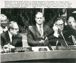British Ambassador Ivor Richard and Soviet Ambassador V.S. Safronchuck