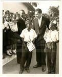 Nixon Greeted in Liberia