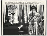 President Nixon Plays Piano for Pearl Bailey