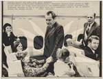President Nixon Flies Coach