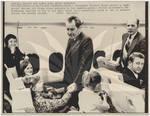 President Nixon Flies Coach
