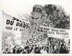 Vietnam War Protestors in Paris