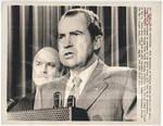 Nixon Announces Troop Withdrawal