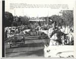 Nixon Motorcade through Amman