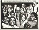Nixon and Sadat with Egyptian Dancers