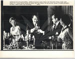 Egyptian President Sadat and Nixon Toast at Dinner