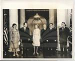 Nixons at Banquet with Soviet Elite