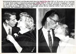 Marilyn Monroe with Joe DiMaggio and Arthur Miller