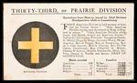 Wesley F. Diedrich First World War Correspondence #13