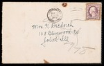 Wesley F. Diedrich First World War Correspondence #24 by Wesley F. Diedrich