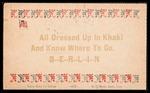 Wesley F. Diedrich First World War Correspondence #27