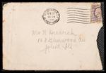 Wesley F. Diedrich First World War Correspondence #28