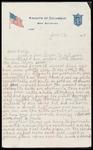 Wesley F. Diedrich First World War Correspondence #31