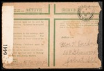 Wesley F. Diedrich First World War Correspondence #32