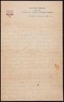 Wesley F. Diedrich First World War Correspondence #40
