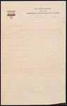 Wesley F. Diedrich First World War Correspondence #41