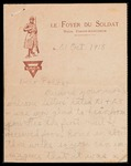 Wesley F. Diedrich First World War Correspondence #44